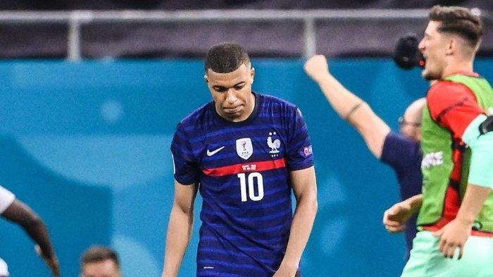 Kylian Mbappe Tolak Perpanjangan Kontrak dari PSG setelah Gagal Bersama Timnas Prancis di EURO 2020