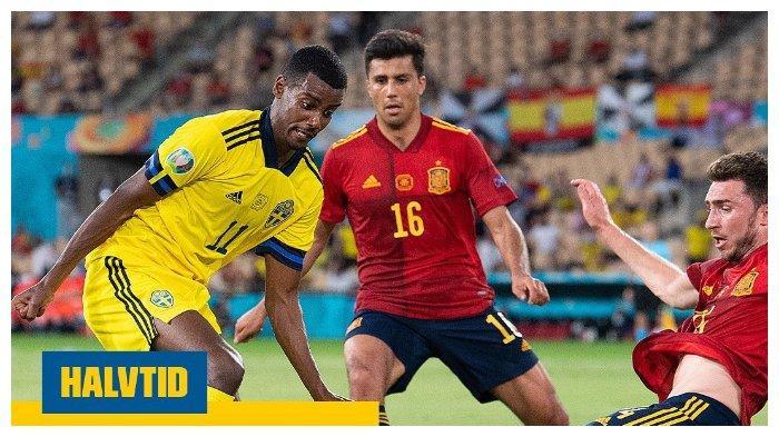 Hasil EURO 2020: Spanyol Tertahan Imbang 0-0 dari Swedia, Morata Sia-siakan Peluang Emas