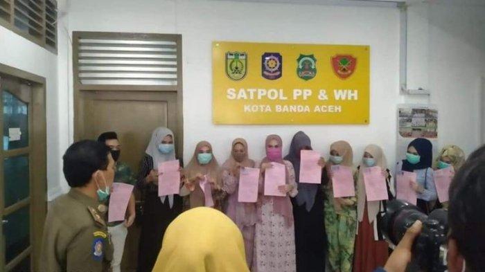 Sempat Buat Wali Kota Banda Aceh Berang, 10 Wanita yang Memakai Baju Ketat Ini Dibina