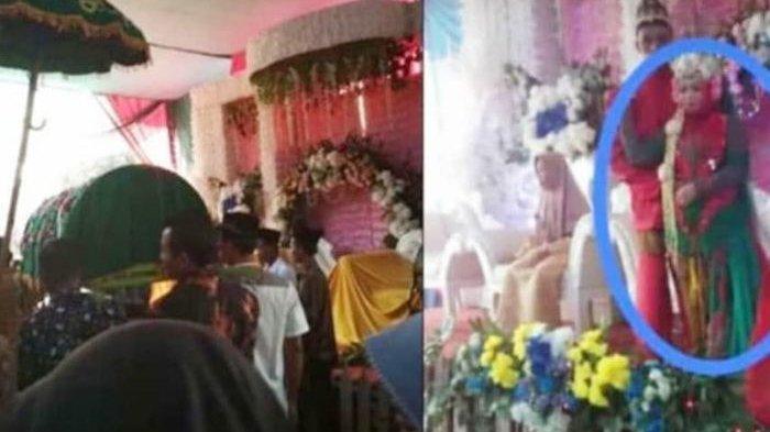 Perempuan meninggal dunia di hari pernikahan