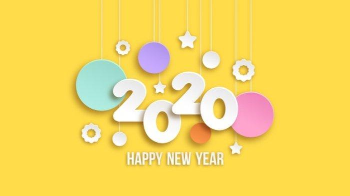 30 Ucapan Selamat Tahun Baru 2020 Berbahasa Inggris Lengkap Dengan Artinya Pas Untuk Update Status Halaman All Tribun Wow