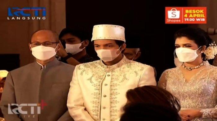 Pernikahan live Atta Halilintar dan Aurel Hermansyah