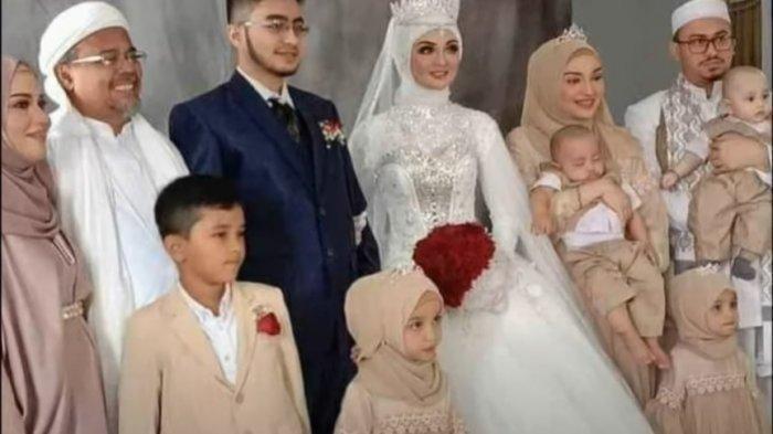 Pernikahan putri Habib Rizieq Shihab, Najwa Shihab dengan Irfan Al Idrus.