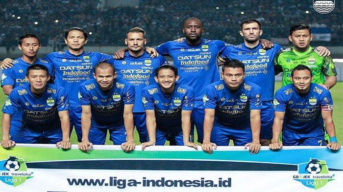 Skuad Persib Bandung pada postingan Instagram @persib pada 7 Mei 2021.