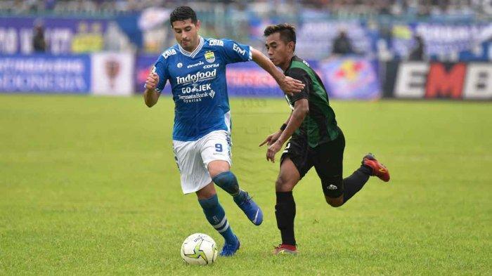 Hasil Akhir Persib Bandung Vs Persiwa 7-0, Ezechiel Cetak Hattrick, Lopicic dan Vizcarra Sumbang Gol