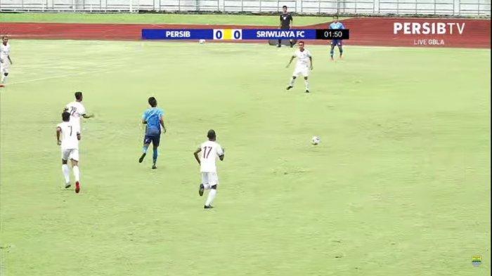 Hasil Babak Pertama Latihan Bersama Persib Bandung Vs Sriwijaya FC: Berakhir Imbang Tanpa Gol