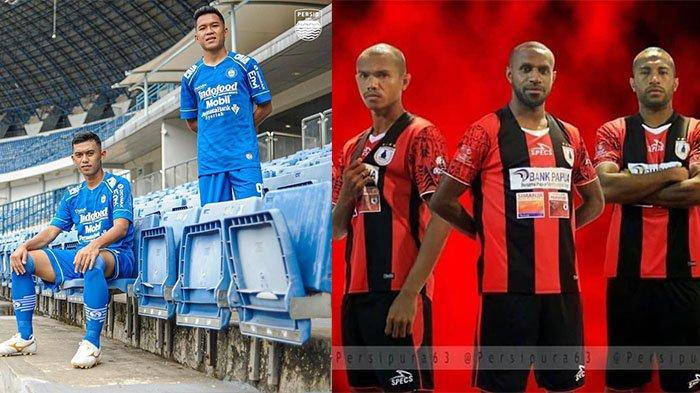 Skuad Sementara Mantan Finalis ISL 2014 Persib Bandung dan Persipura Jayapura: Mayoritas Berbeda