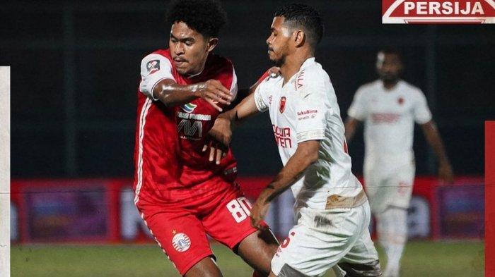 Persija Jakart takluk 0-2 dari PSM Makassar di Piala Menpora 2021 yang berlangsung di Stadion Kanjuruhan, Malang, Senin (22/3/2021).