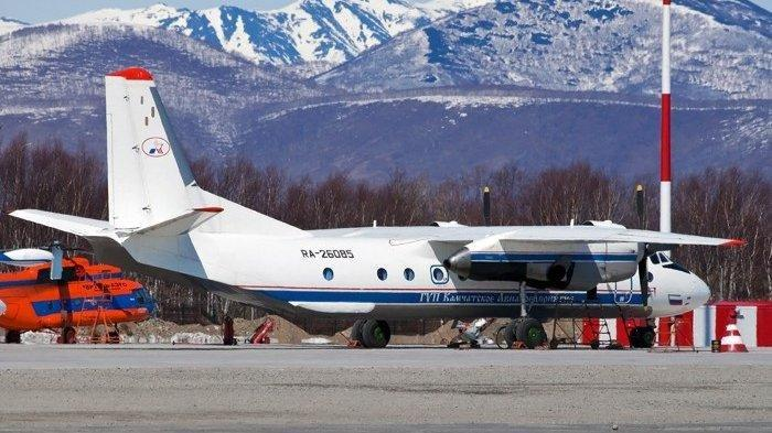 Pesawat Rusia Antonov An-26 Dilaporkan Jatuh ke Laut, 22 Penumpang dan 6 Awak Tewas