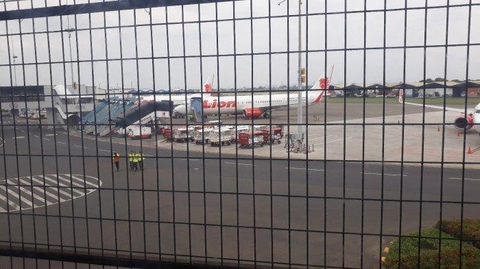 Harga Tiket Pesawat Naik, Pesawat Lion Air Banyak yang Menganggur di Bandara Soekarno-Hatta