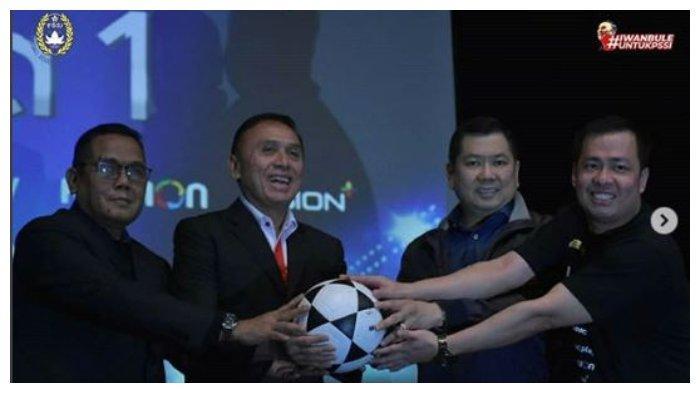 RESMI! MNC Vision Network Ditunjuk Siarkan Liga 1 2020, Ketua Umum PSSI Berikan ApresiasI