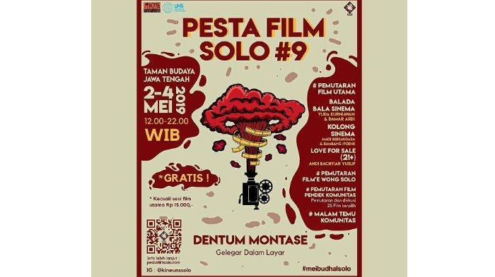 Pesta Film Solo #9: Gelaran Pemutaran Alternatif Karya Mahasiswa UNS, Digelar 2-4 Mei 2019