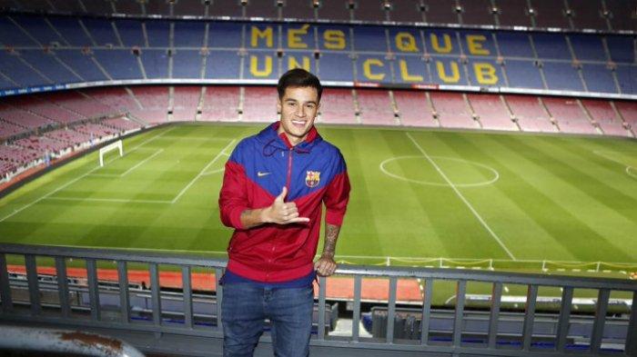 Link Live Streaming La Liga Real Betis vs Barcelona di SCTV, Philippe Coutinho Masih Harus Menunggu
