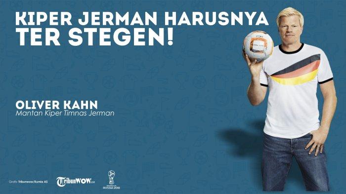 Oliver Kahn: Jika Saya Pelatih Jerman, Jelas Saya Akan Pasang Ter Stegen sebagai Kiper Utama