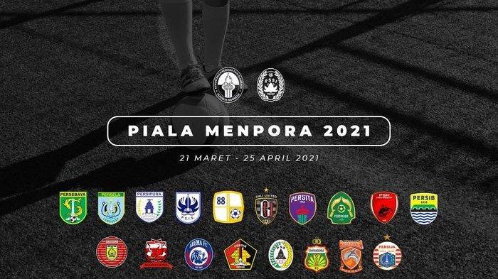 Hasil Drawing Piala Menpora 2021: Persija Jakarta di Grup Neraka, Persib Bandung Hadapi Bali United
