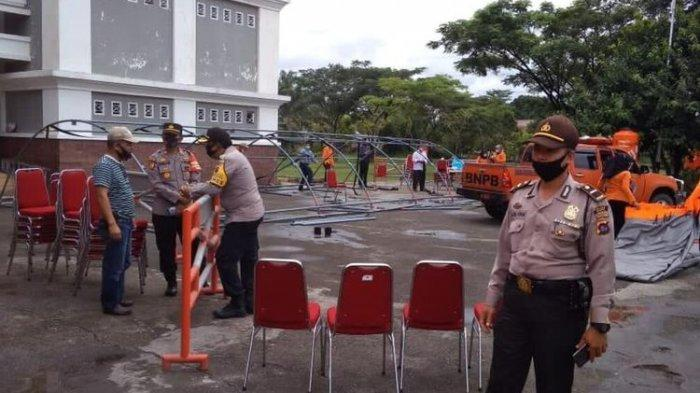 Pesta Pernikahan Anak Kepala BPBD Limapuluh Kota Dibubarkan Polisi, Kapolres: Resepsi Tidak Boleh