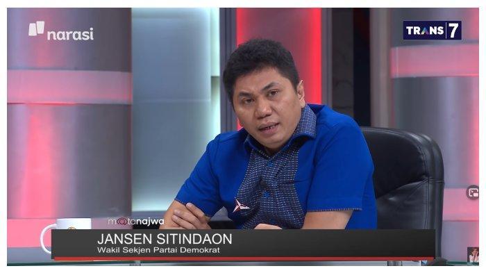 Disinggung soal Iuran Kader Partai Demokrat, Jansen Sitindaon: Itulah Terjemahan dari Kenclengan