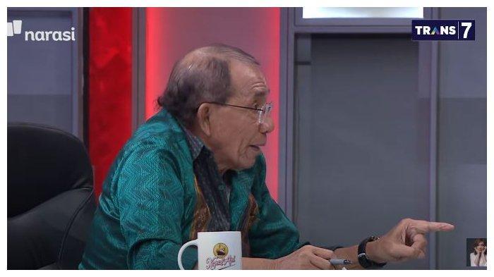 Politisi sekaligus pendiri Partai Demokrat, Max Sopacua dalam acara Mata Najwa, Rabu (3/3/2021). Dirinya mengaku tersinggung dengan pernyataan dari Wakil Sekjen Partai Demokrat, Jansen Sitindaon.