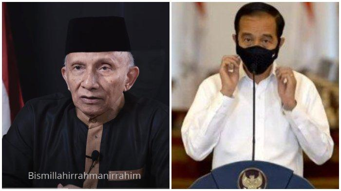 Kecam Perpres Investasi Miras, Amien Rais Minta Jokowi Batalkan: Selamat, Anda Punya Urusan Berat