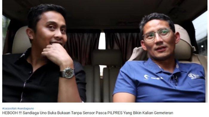 Sandiaga Uno Blak-blakan Ungkap Alasan Berani Tinggalkan Anies Baswedan dari Kursi Wagub DKI Jakarta