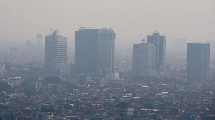 Kualitas Udara Jakarta Minggu 18 Agustus 2019 Pagi Ini Terburuk Ketiga di Dunia