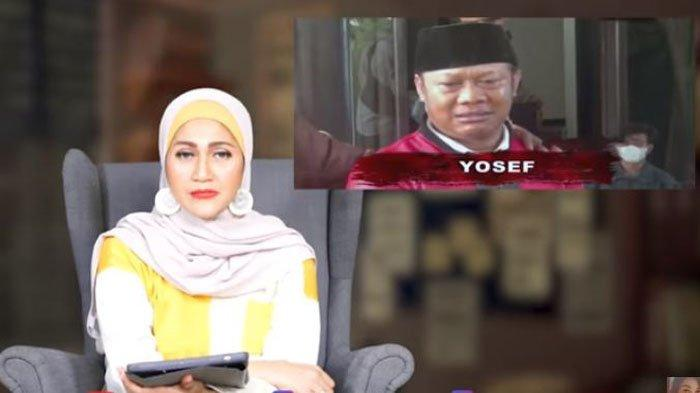 Poppy Amalya menganalisa ekspresi Yosep (55), suami sekaligus ayah dari korban kasus pembunuhan ibu dan anak di Subang, Jawa Barat, Rabu (15/9/2021).