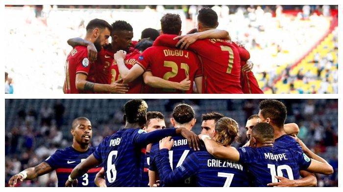 Sedang Berlangsung Portugal Vs Prancis, Grup F EURO 2020, Tonton Live Streaming RCTI dan Mola TV