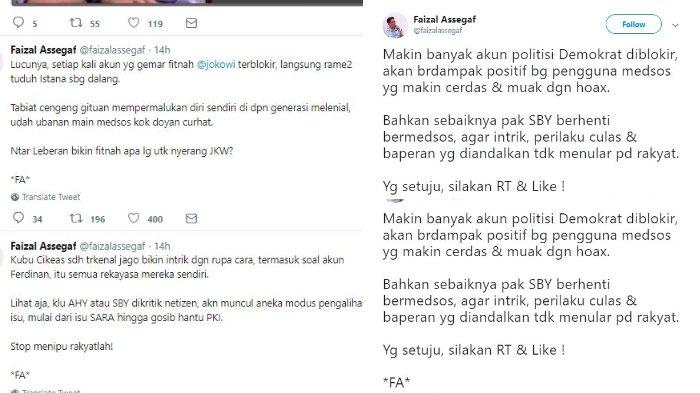 Postingan Faizal Assegaf