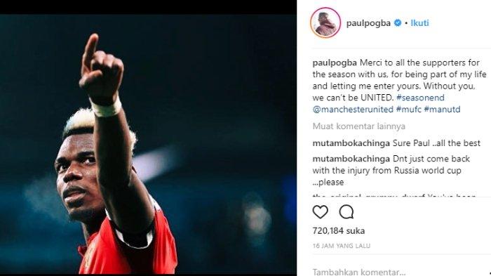 Postingan Paul Pogba