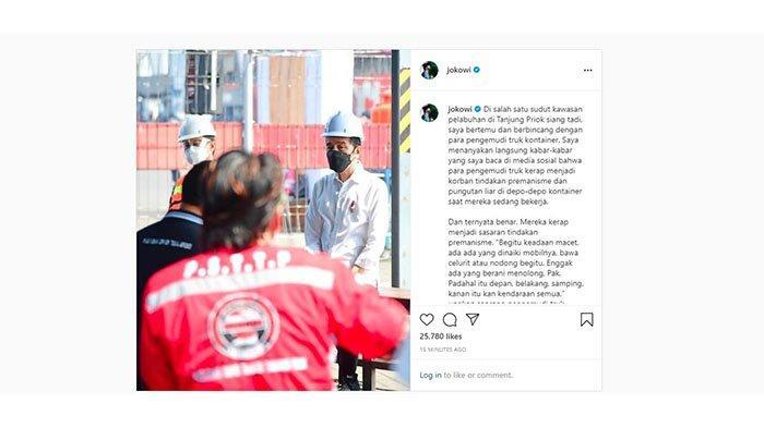 Kunjungi Pelabuhan Tanjung Priok, Presiden Jokowi Temukan Aksi Premanise: Ditodong Celurit