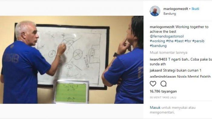 Postingan Roberto Carlos Mario dalam akunnya @mariogomezdt