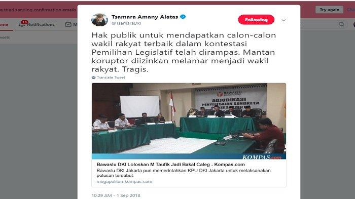 Postingan Tsamara Amany