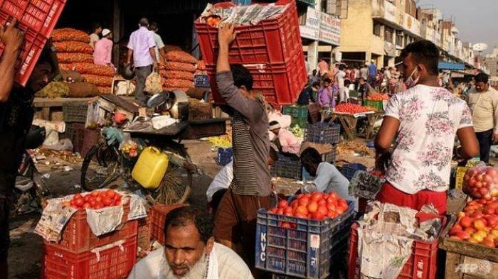 Korban Meninggal di Dunia Mendekati 3 Juta Orang setelah Kasus Covid-19 di India Melonjak