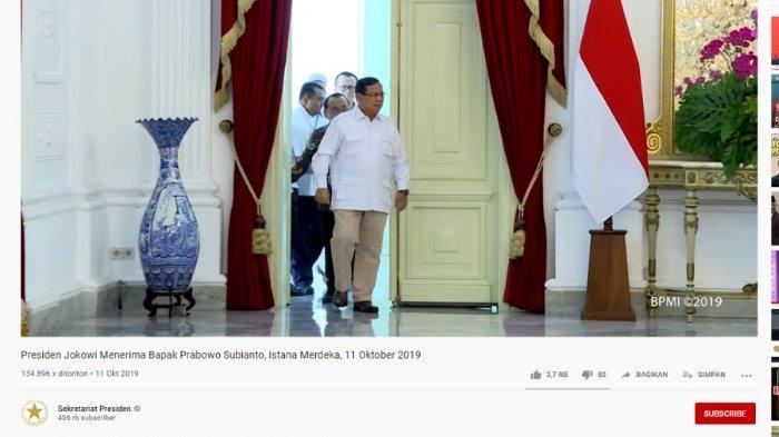 Video Ali Ngabalin Dihentikan Tepat di Depan Pintu, Tak Ikut Prabowo Masuk ke Dalam Istana Merdeka