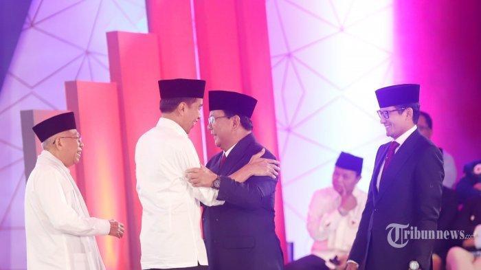 Live Streaming Debat Kedua Pilpres, Jokowi Vs Prabowo, Minggu 17 Februari 2019 Pukul 20.00 WIB