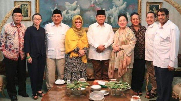 Prabowo Silaturahmi dengan Keluarga Cendana Usai Umumkan Sandiaga sebagai Cawapresnya