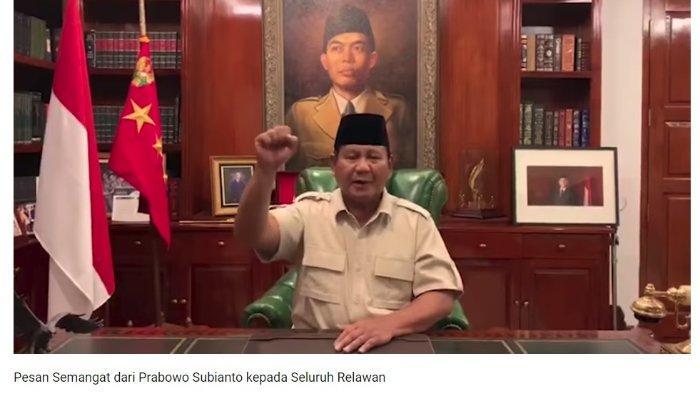 Prabowo Imbau Pendukungnya untuk Selalu Mengalah dan Patuh pada Ketentuan Hukum