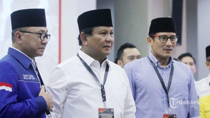 Tolak Revisi Visi Misi Prabowo-Sandi, Ini Alasan KPU