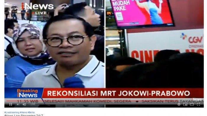 Pertemuan Jokowi dan Prabowo, Pramono Anung: Mengubah yang Terjadi di Pertarungan Sengit Tak Mudah