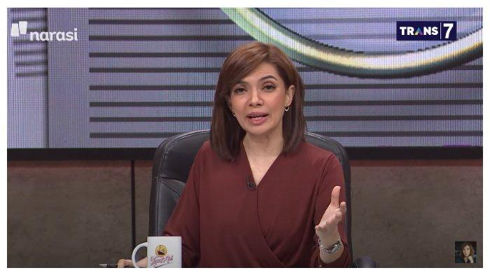 Presenter Najwa Shihab seakan memberikan sindiran kerasa kepada pimpinan Dewan Perwakilan Rakyat (DPR), dalam acara Mata Najwa, Rabu (8/10/2020).
