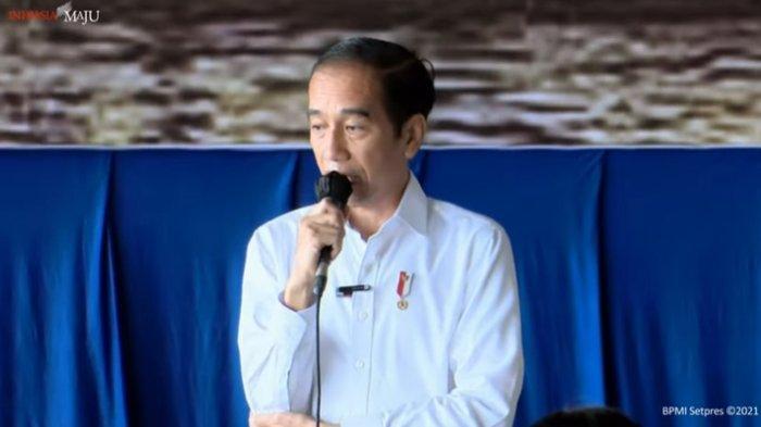 Jokowi Bakal Bangun Rumah untuk Keluarga Korban KRI Nanggala 402: Tempatnya Terserah Ibu-ibu Semua