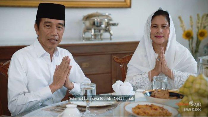 Ucapkan Selamat Hari Raya Idul Fitri 1441 H, Presiden Jokowi Singgung Sulitnya Lebaran Tahun Ini