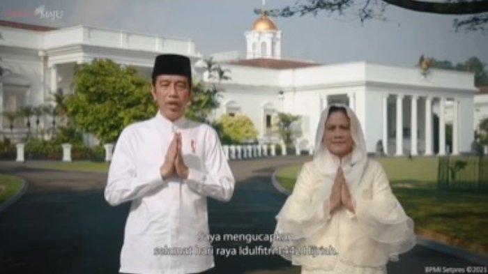 Deretan Ucapan Selamat Idul Fitri dari Berbagai Tokoh dan Pejabat, Jokowi, Prabowo, hingga Mahfud MD
