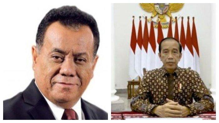 Rektor UI, Ari Kuncoro (kiri), dan Presiden Joko Widodo (Jokowi) (kanan). Presiden Joko Widodo (Jokowi) menuai kritik seusai mengizinkan Rektor Universitas Indonesia (UI) Ari Kuncoro rangkap jabatan.
