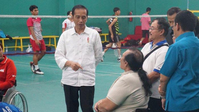 Kunjungan Dadakan Jokowi ke Pelatnas Asian Para Games di Solo Menambahkan Motivasi Atlet