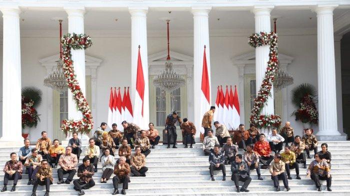 Kenalkan Semua Menteri, Jokowi Beri Pesan dan Ancaman: Hati-hati Bisa Dicopot di Tengah Jalan