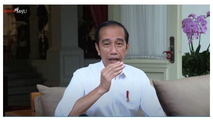 Presiden Joko Widodo (Jokowi) kembali buka suara soal munculnya wacana perubahan masa jabatan presiden menjadi tiga periode, Senin (15/3/2021).