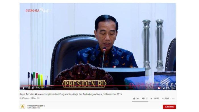 Kartu Pra Kerja Disebut untuk Menggaji Pengangguran, Presiden Jokowi: Itu Keliru