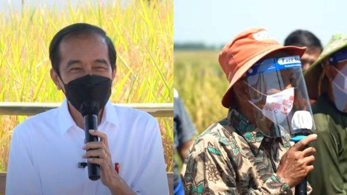 Langsung Kabulkan Permintaan Petani di Indramayu, Jokowi: Dah Jangan Tambah Lagi