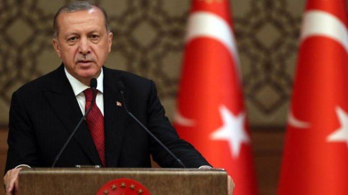 Presiden Turki Erdogan Sebut Presiden AS Joe Biden Tulis Sejarah dengan Tangan Berdarah